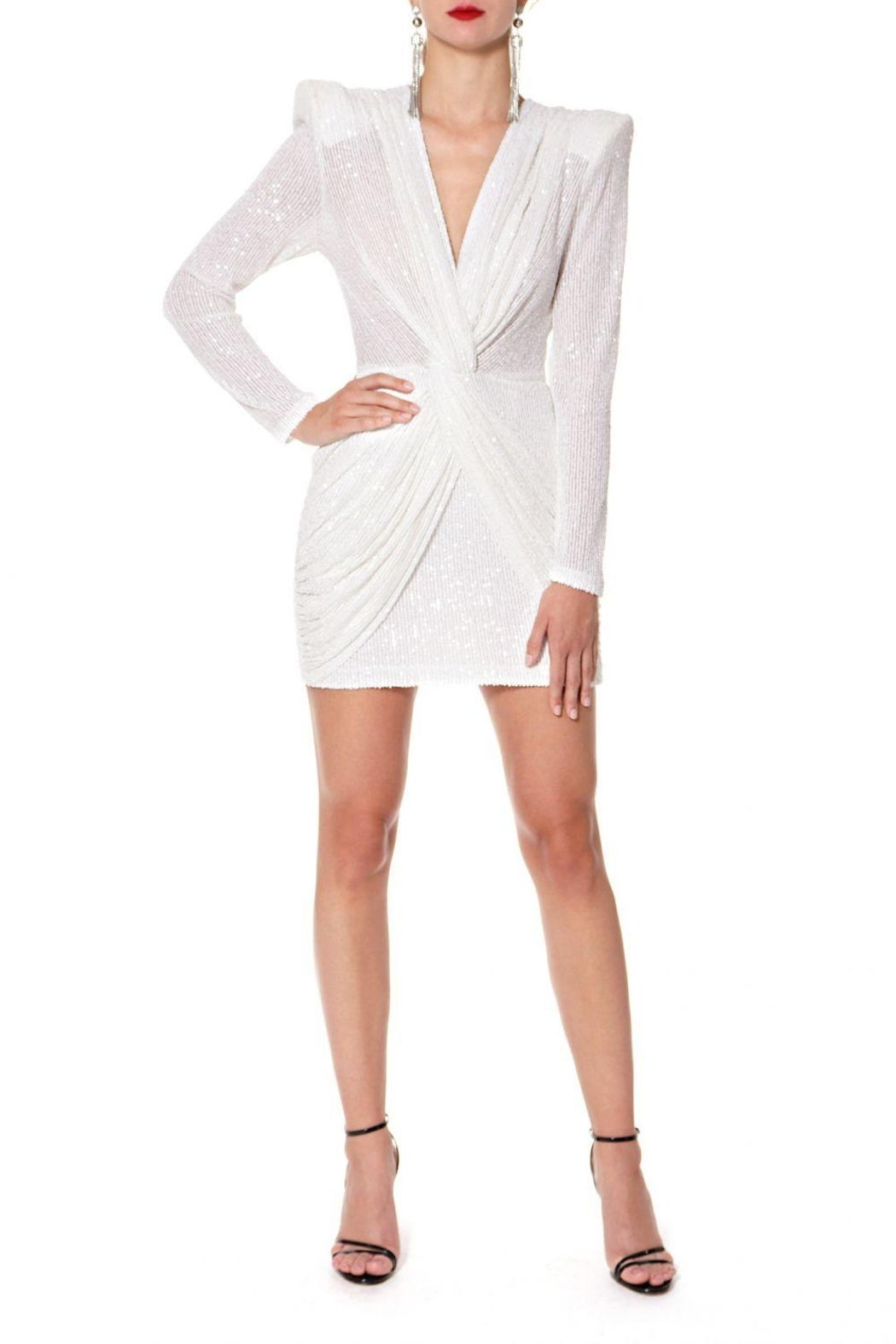 AGGI Dress Jennifer Super White - Main Image