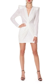 AGGI Dress Jennifer Super White - Front cropped