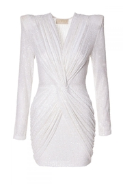 AGGI Dress Jennifer Super White - Front full body