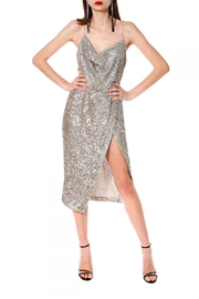 AGGI Dress Kim Champagne - Product Mini Image