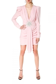 AGGI Dress Krystle Crystal Pink - Front cropped