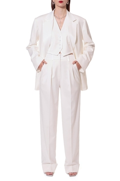Shoptiques Product: Frankie Aesthetic White Trousers
