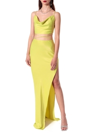 AGGI Gal Wild Lime Skirt - Front cropped