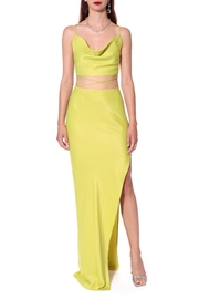 AGGI Gal Wild Lime Skirt - Side cropped