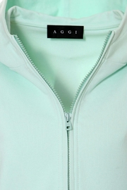 AGGI Hoodie Selena Frosty Mint - Side cropped