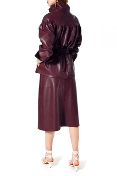 AGGI Jacket Patrizia Malaga Wine - Alternate List Image