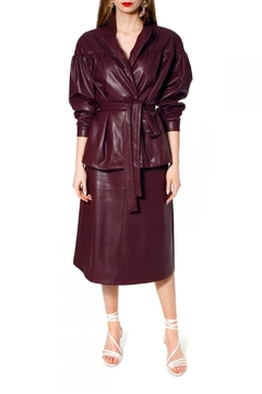 Shoptiques Product: Jacket Patrizia Malaga Wine