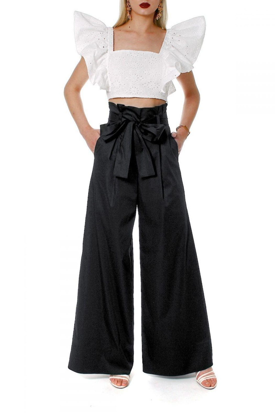 AGGI Pants Andie Super Black - Main Image