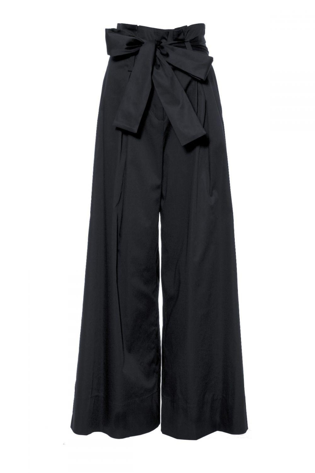 AGGI Pants Andie Super Black - Front Full Image