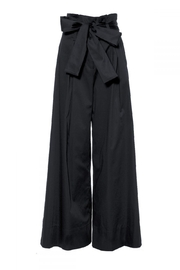 AGGI Pants Andie Super Black - Front full body