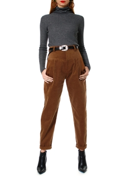 AGGI Pants Brook Toffee - Product List Image
