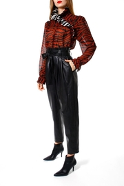 AGGI Pants Carrie Cynical Black - Front full body