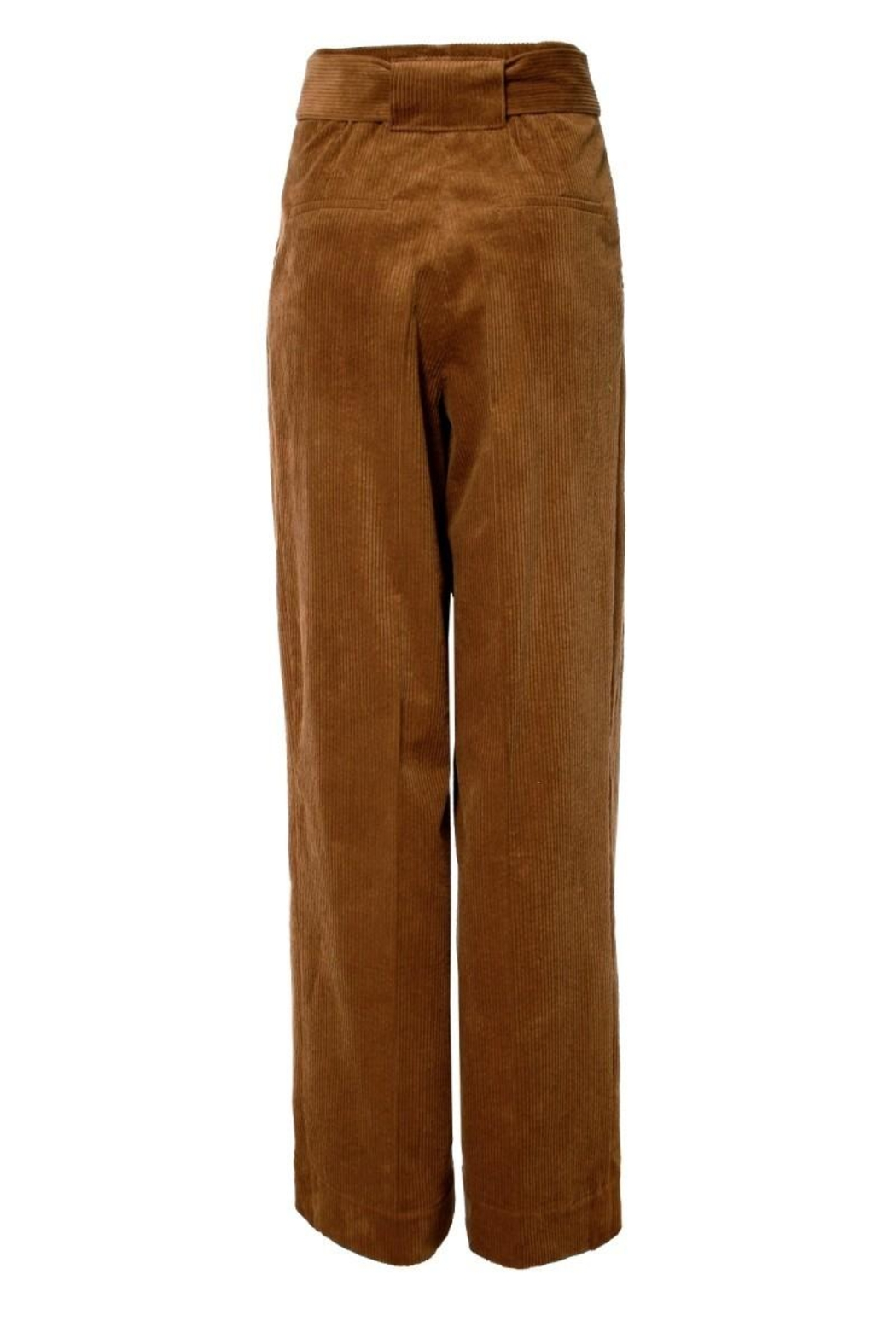 AGGI Pants Janice Toffee - Side Cropped Image