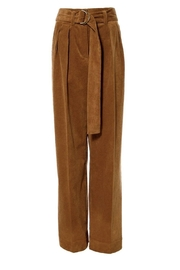AGGI Pants Janice Toffee - Front full body