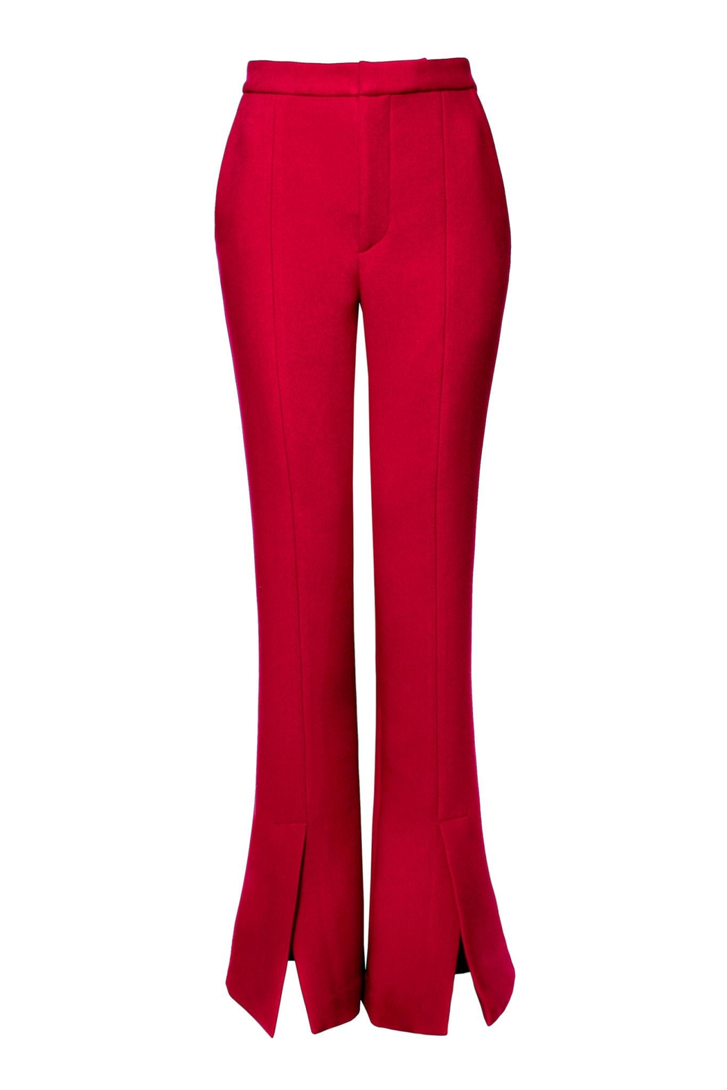 AGGI Pants Monica Lipstick Red - Height 165 - Front Full Image