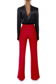 AGGI Pants Monica Lipstick Red - Height 175 - Back cropped