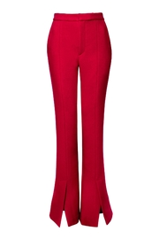 AGGI Pants Monica Lipstick Red - Height 175 - Front full body