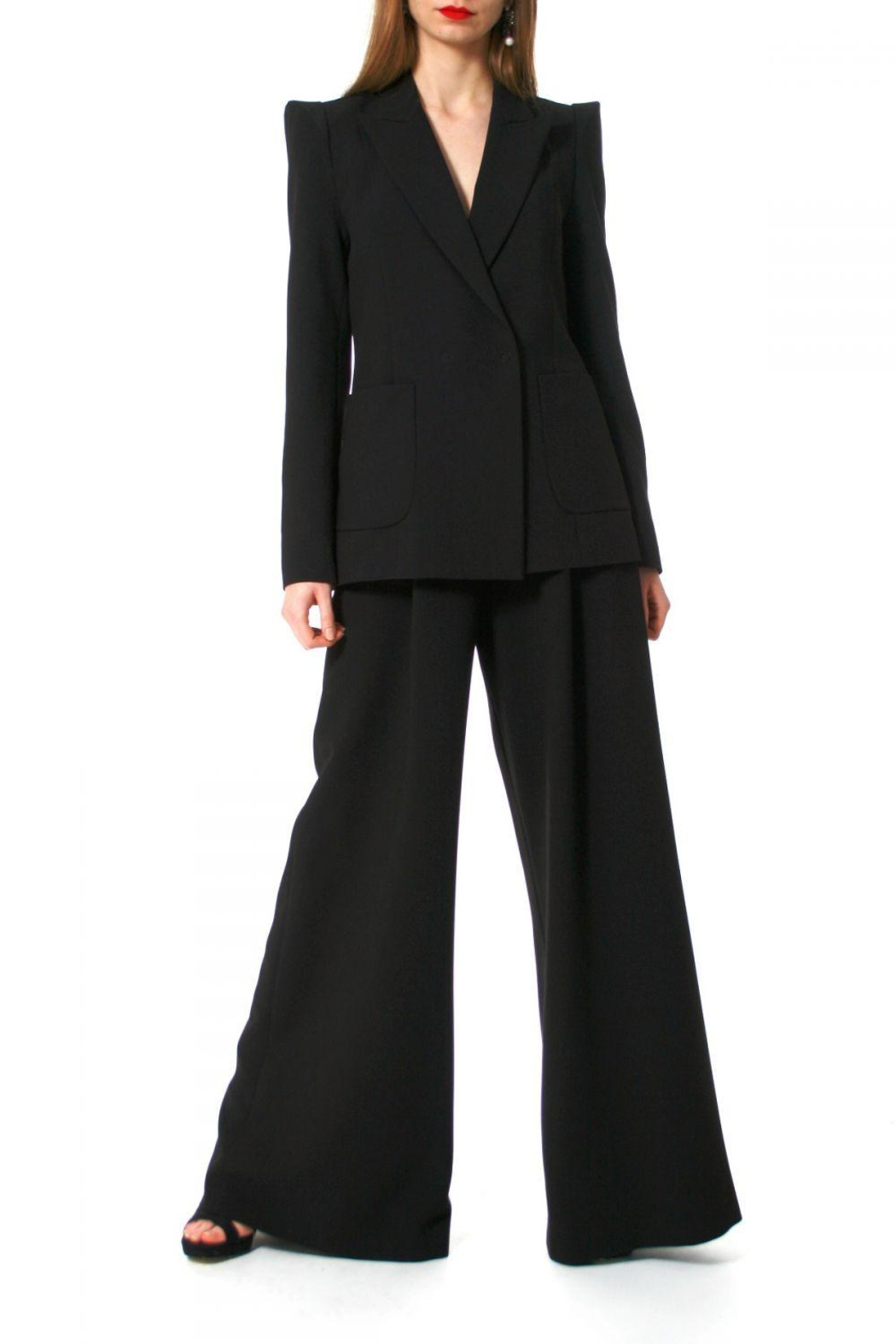 AGGI Pants Rebecca Total Eclipse - Front Cropped Image