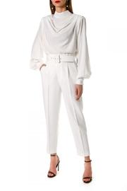 AGGI Pants Tracey Cloud Dancer - Side cropped