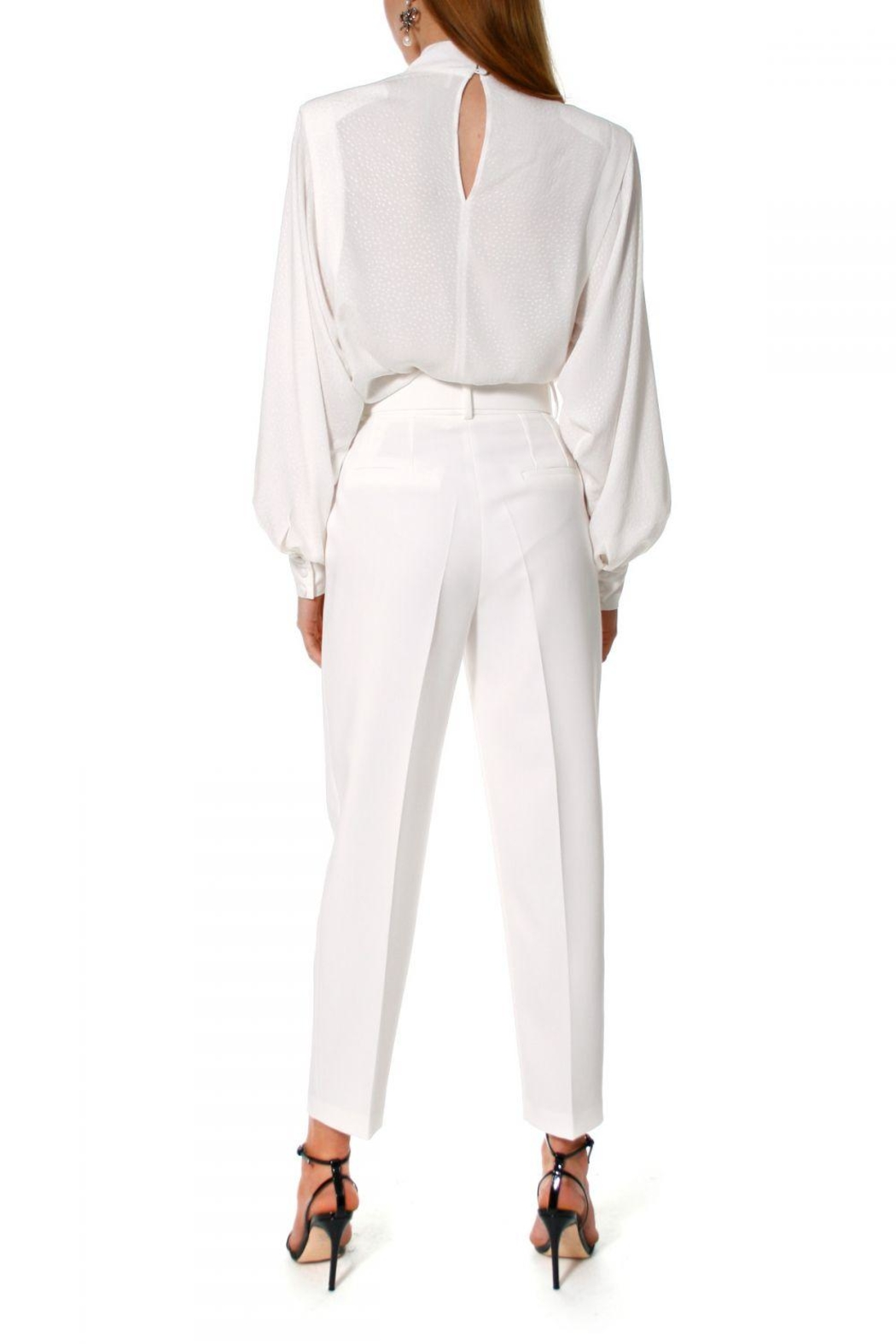 AGGI Pants Tracey Cloud Dancer - Front Full Image