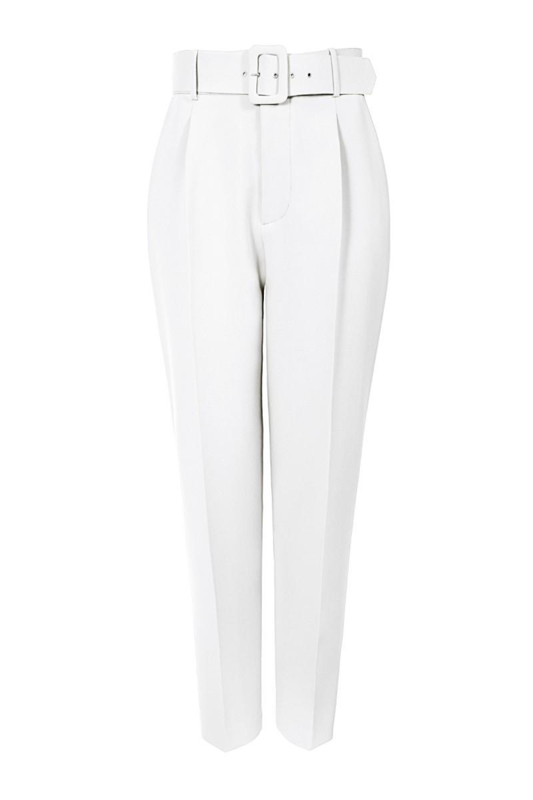 AGGI Pants Tracey Cloud Dancer - Back Cropped Image
