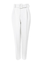 AGGI Pants Tracey Cloud Dancer - Back cropped