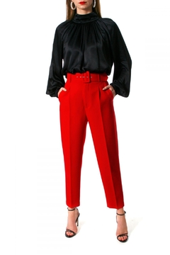 AGGI Pants Tracey True Red - Product List Image