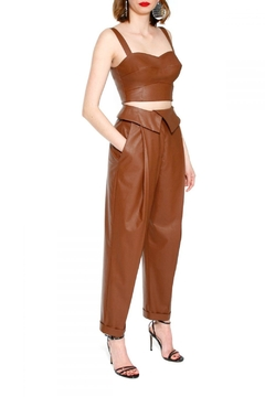 AGGI Pants Xenia Raw Umber - Alternate List Image