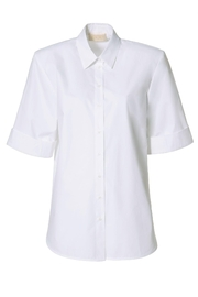 AGGI Shirt Demi Simple White - Front full body