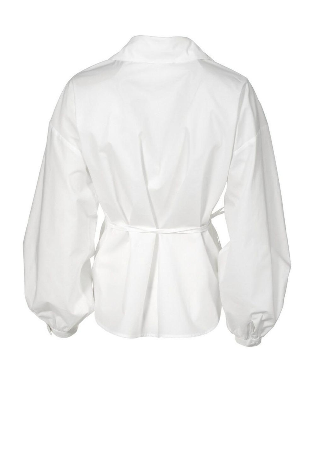 AGGI Shirt Laynie White - Side Cropped Image