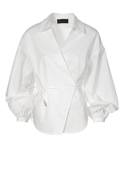 AGGI Shirt Laynie White - Front full body