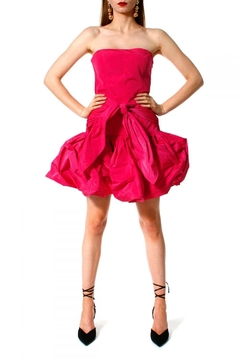 Shoptiques Product:  Skirt Angelina Shocking Pink
