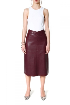 AGGI Skirt Chiara Malaga Wine - Alternate List Image