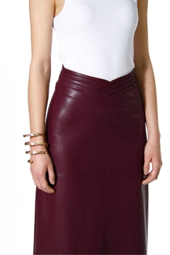 AGGI Skirt Chiara Malaga Wine - Product List Image