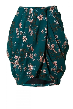 AGGI Skirt Gloria Deep Teal - Alternate List Image