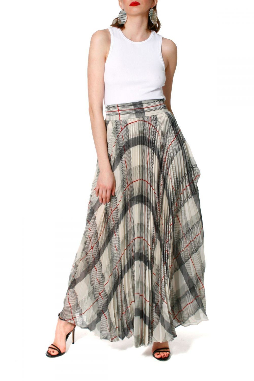 AGGI Skirt Melissa Atmosphere - Side Cropped Image