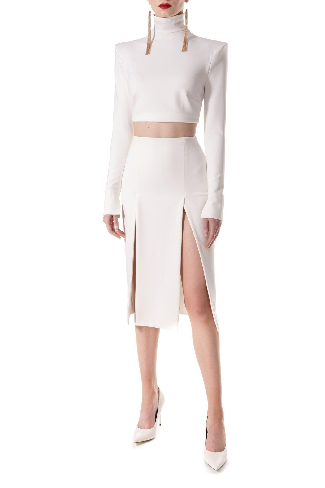 AGGI Skirt Salma Ecru White - Side Cropped Image