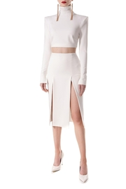 AGGI Skirt Salma Ecru White - Side cropped
