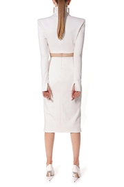 AGGI Skirt Salma Ecru White - Back cropped