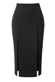 AGGI Skirt Salma Perle Noir - Front full body