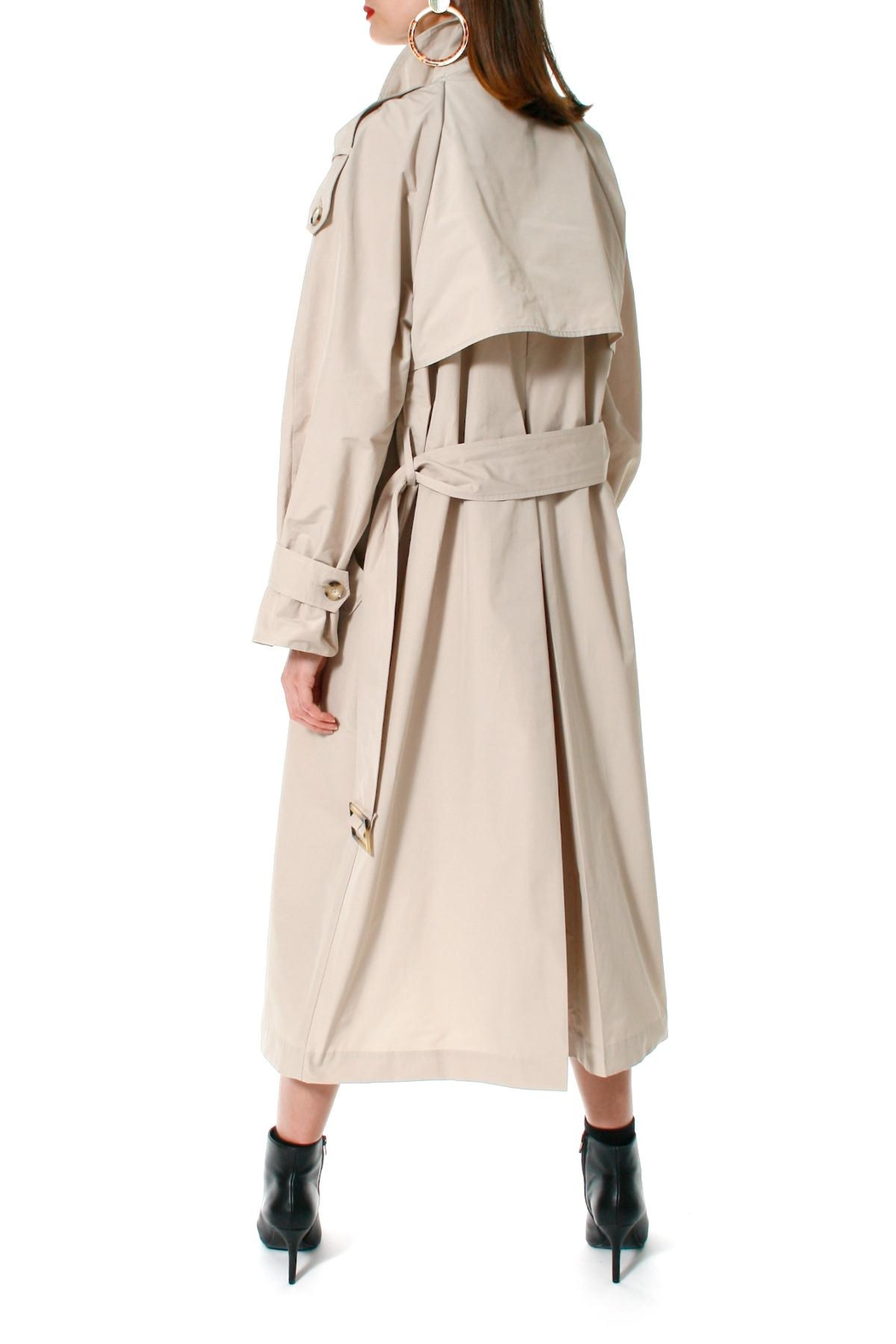 AGGI Trench Coat Céline Beige - Side Cropped Image