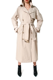 AGGI Trench Coat Céline Beige - Front cropped