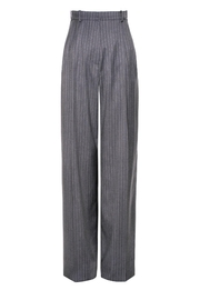 AGGI Trousers Gwen Downtown Grey - Front full body