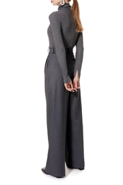 AGGI Trousers Gwen Downtown Grey - Back cropped