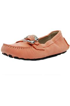 Shoptiques Product: Stretchy Peach Moccasin
