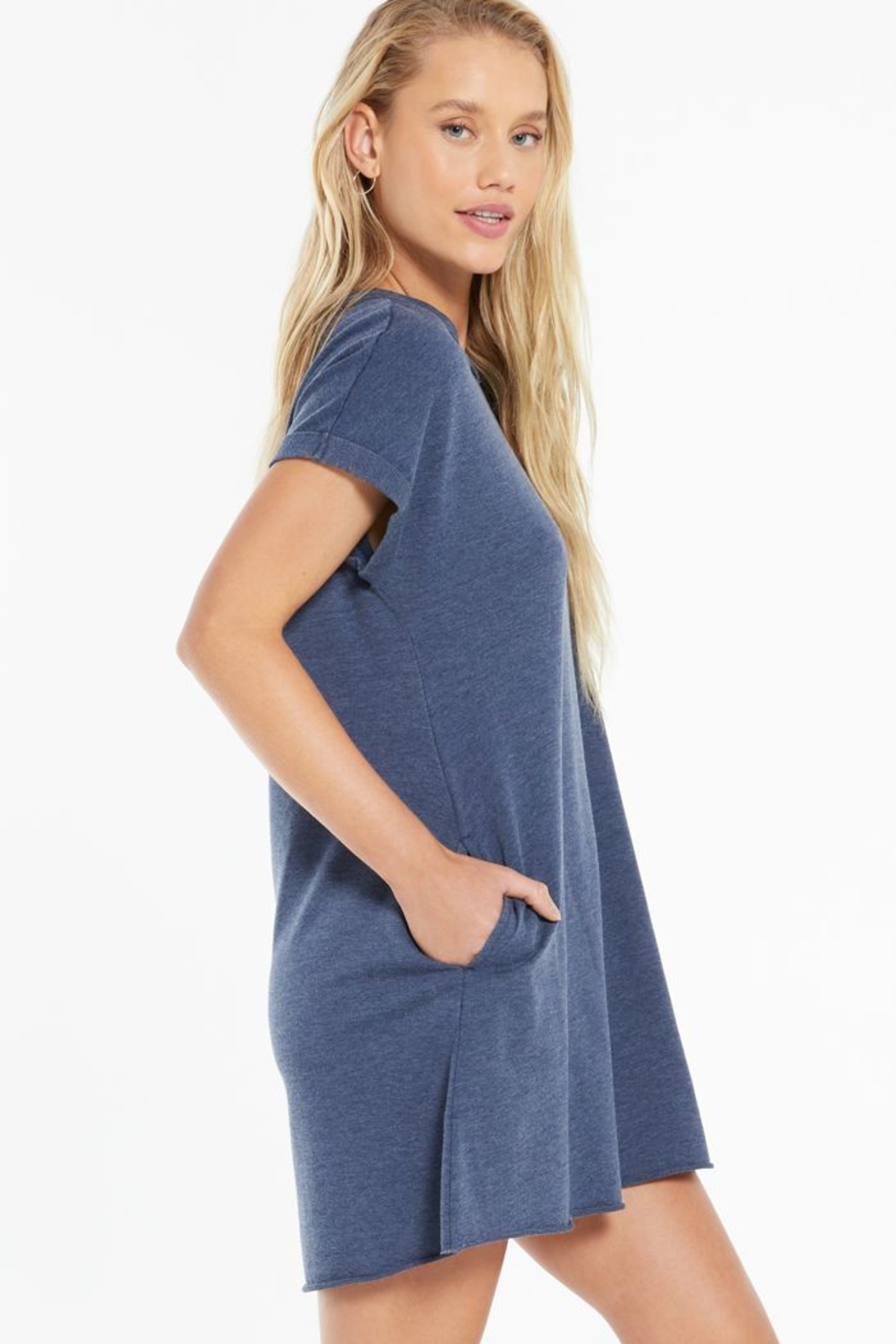 z supply Agnes Terry Dress - Front Full Image