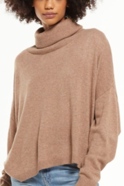 z supply  Agnes Turtleneck Sweater - Front cropped