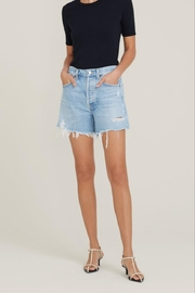 AGOLDE Parker Long Loose Fit Vintage Short In Swapmeet - Product Mini Image