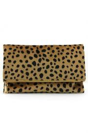 AGP Leopard Print Clutch - Front cropped