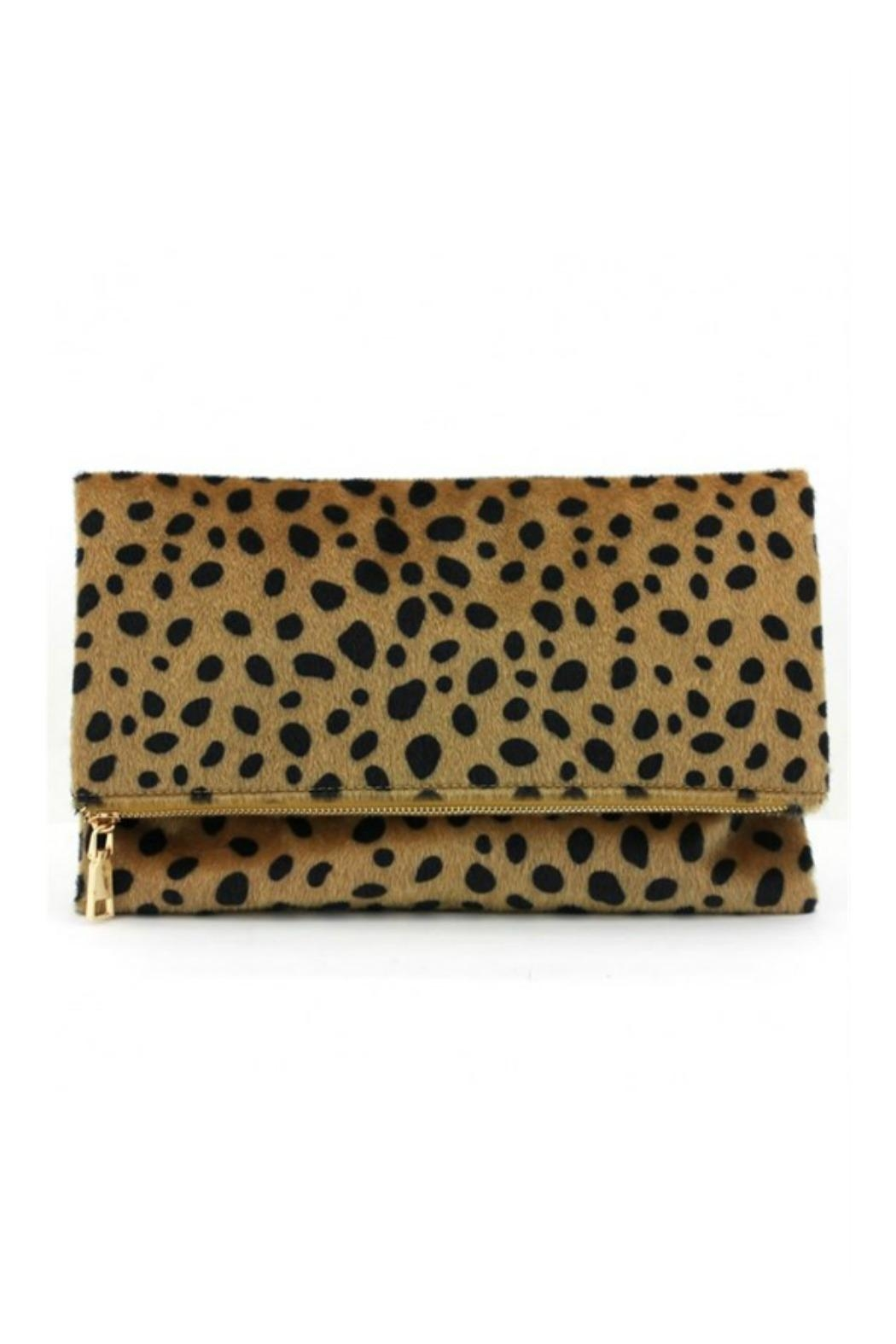 AGP Apparel Leopard Clutch - Main Image